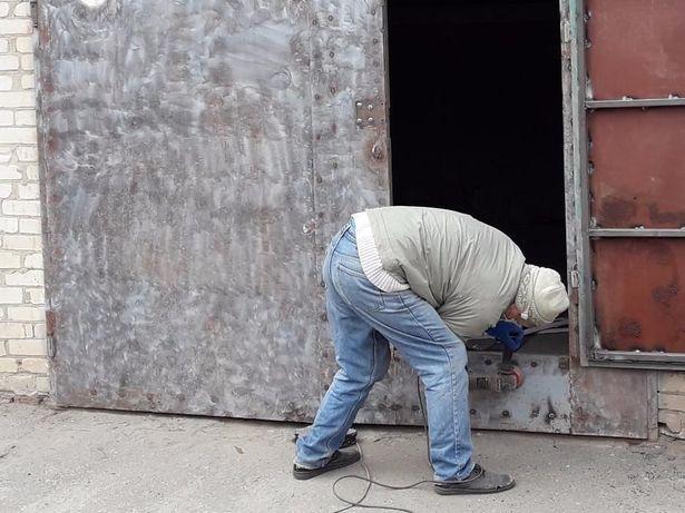 Харьков: Ремонт металлических, ворот, гаража и др.изделий