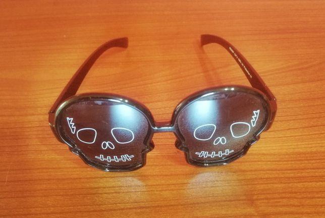 Okulary przeciwsłoneczne dziecięce - czaszki