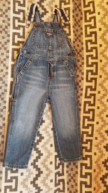 Джинсовый комбинезон Oshkosh /джинсы Oldnavy на 2 г.