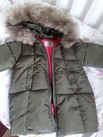 Conjunto de 3 casacos menina tam 2/3 em excelente estado