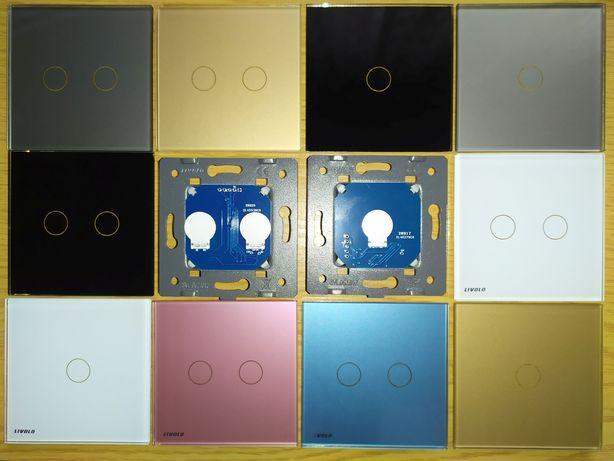 NEW Сенсорный выключатель Livolo VL-C1 VL-C2 одна две линии