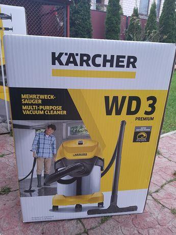 Професійний Karcher wd3 premium пилосос