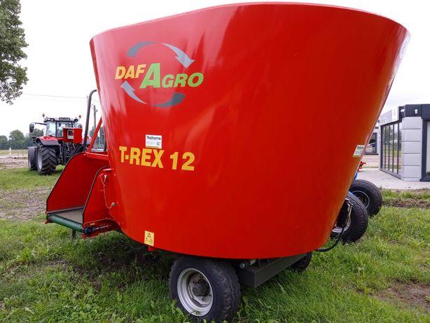 Wóz paszowy, paszowóz DafAgro T-Rex 12