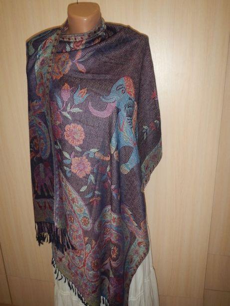 шарф шаль пашмина из смесовой нити Cashmere