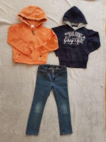 Bluzy dla dziewczynki roz 116