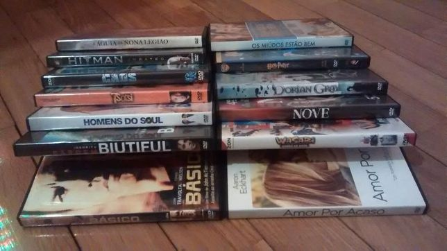 Vários DVD's de filmes