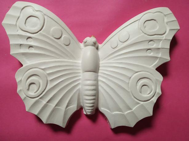 Gipsowy motyl 3D. Do samodzielnego pomalowania