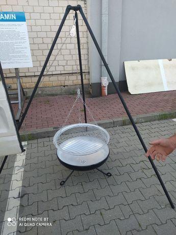 Grill robiony przez kowala