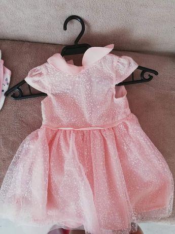 Sukienka różowa nowa