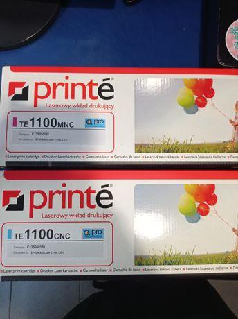 Dwa nowe tonery TE1100mnc i TE1100cnc toner printe