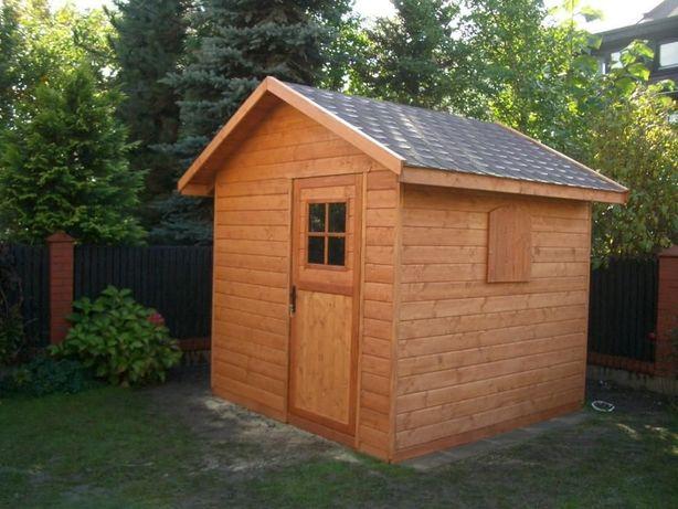 Domek Narzedziowy drewniany, 250 x 250, domek gospodarczy, boazeria 20