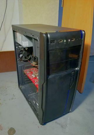Компютер, системный блок s775 4 ram hd 3870
