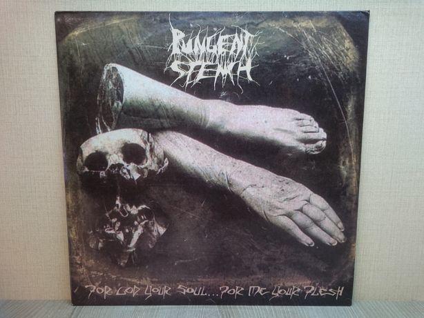 Виниловая пластинка Pungent Stench – For God Your Soul 1990 ХОРОШАЯ!