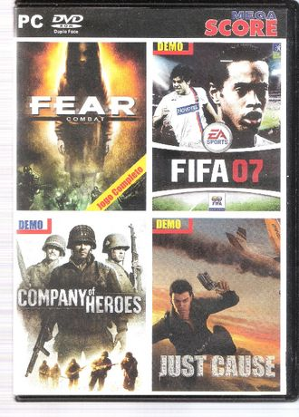 "Jogo PC DVD-ROM ""FEAR Combat"" + Demos"
