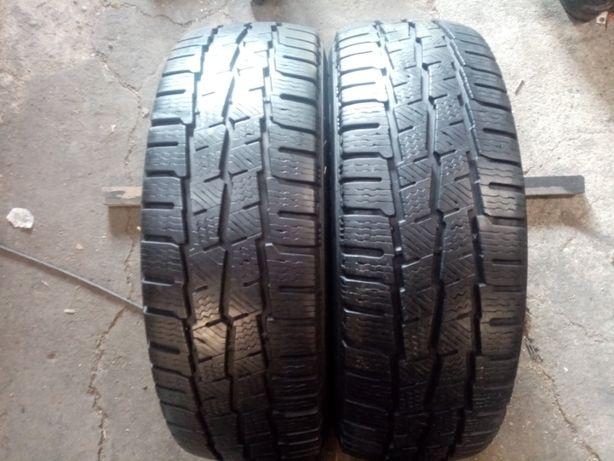 195x60x16 C - wielosezonowe dostawcze Michelin - bieżniki 7 mm