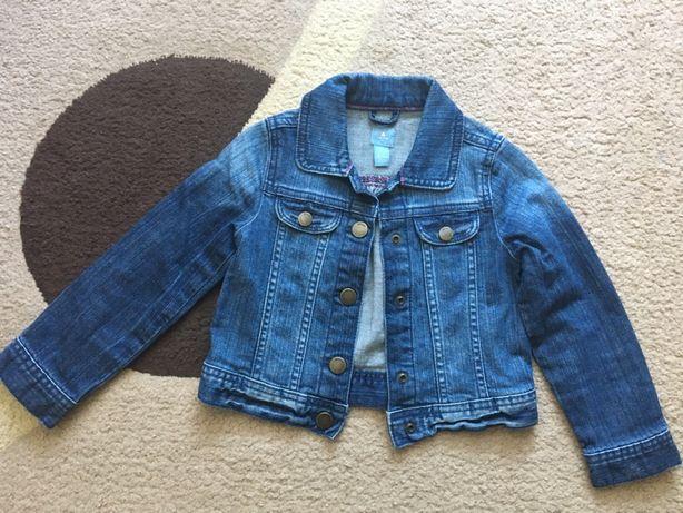 Gap kurtka, katana jeansowa r. 110