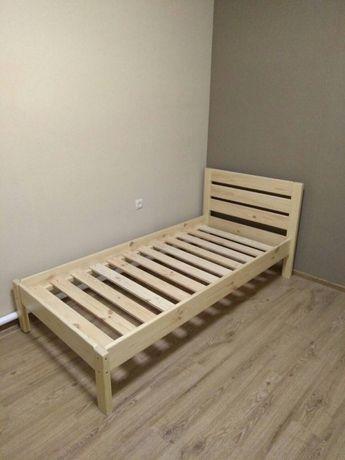 кровать детская деревянная 1спальная, 190*90см