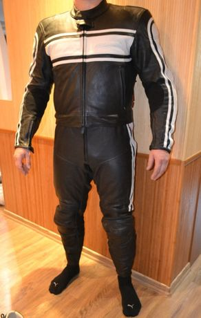 Hein Gericke S мотокостюм 36-38р кожаный Оригинал мотокомбинезон