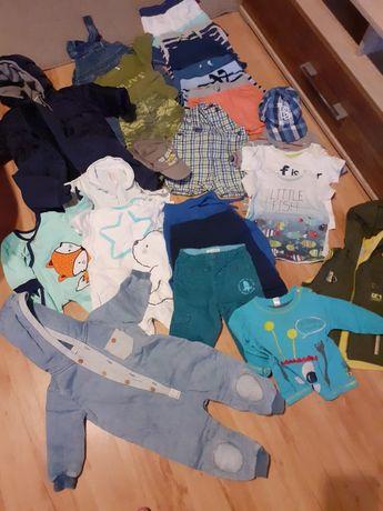 Ubranka dla chłopca w rozmiarze 68-74