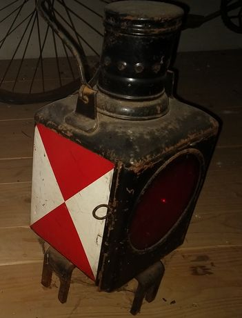 Stare lampy kolejowe