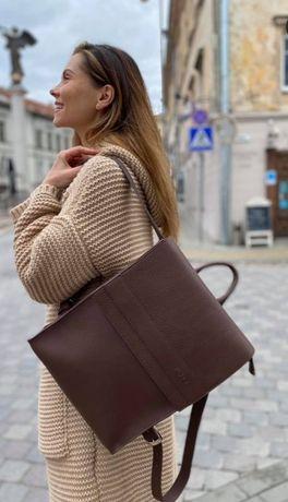 Рюкзак , кожа,новый