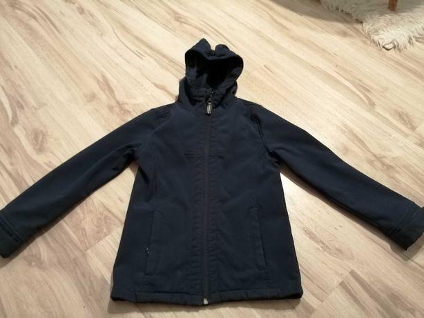 Soft shell wiosenna kurtka 122 - 128 dla chłopca