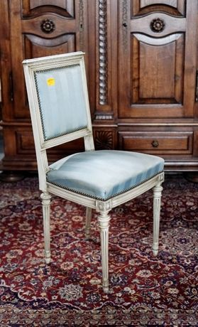 Białe krzesło | Antyki Stylowy Węgrów
