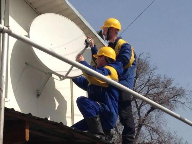 Установка, настройка, ремонт спутниковых и эфирных антенн. (Т2)