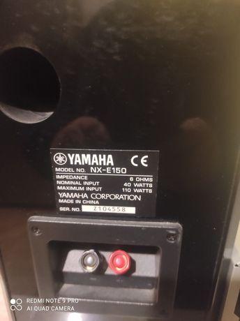 Odtwarzacz DVD Yamaha z głośnikami