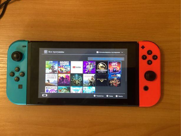 СРОЧНО! Продам Nintendo Switch по низкой цене! Возможен торг!