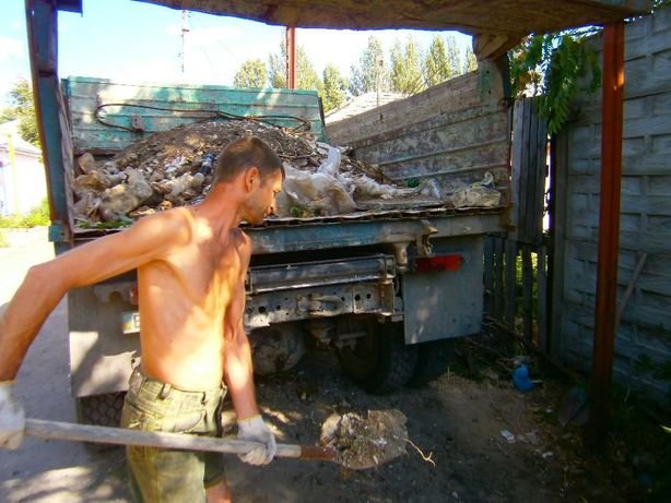 Вывоз строительного мусора, перегной, песок, щебень