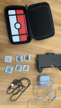 Nintendo New 3DS XL duży zestaw