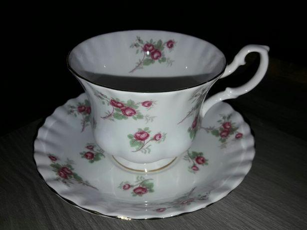 Porcelana Richmond Rose Time England Filiżanka i Spodek Antyk Zabytek