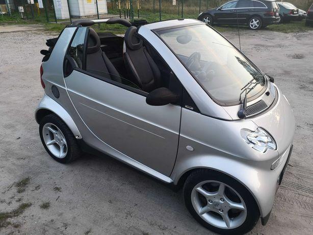 Smart 0,7 turbo kabrio
