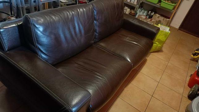 Wypoczynek; kanapa i fotel