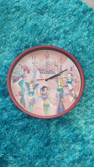 Zegar ścienny dla dziewczynki