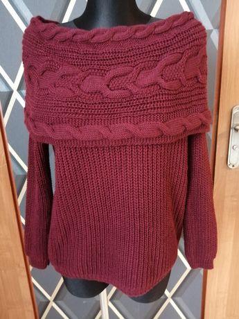 Ciepły sweterek xxl