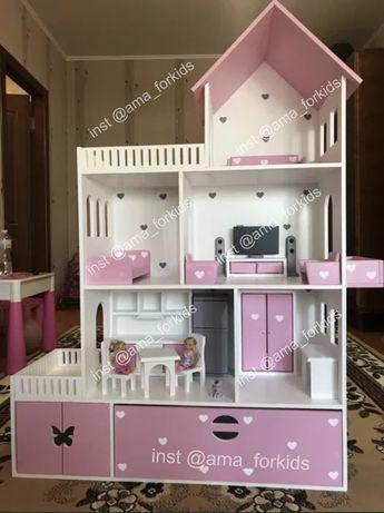 Ляльковий будиночок, будиночок для ляльок барбі, детский дом