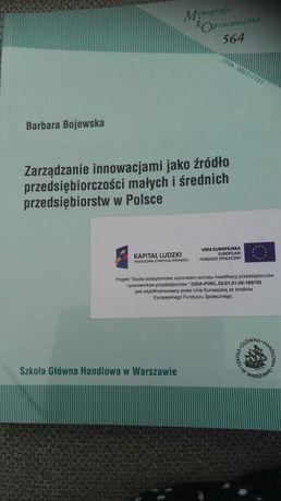 Zarządzenie inowacjami jak źródło przedsiębiorczości mał i śr w Polsce