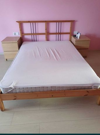 IKEA FJELLSE łóżko 140x200 cm