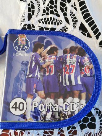 Bolsa porta cds, dvds oficial do FC Porto