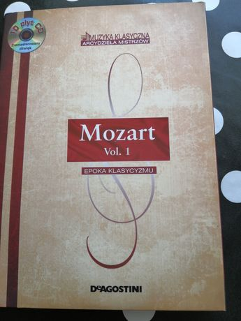 Kolekcja płyt Arcydzieła Mistrzów - Mozart vol. 1