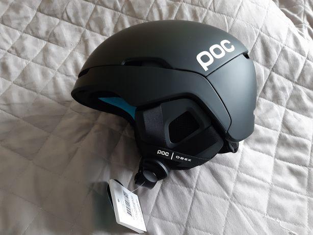 Nowy kask POC OBEX Spin Black XS-S 51-54cm narciarski snowboardowy