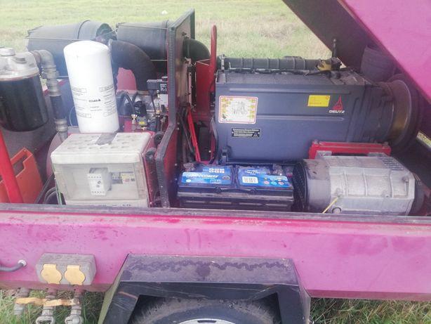Kompresor ecoair f58 z agregat pradotworczy sprezarka srubowa
