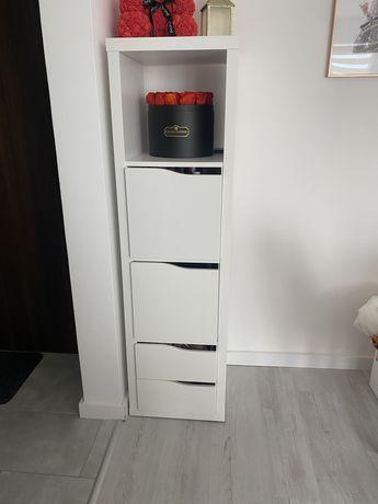 Regał Kallax z 3 wkładami Ikea