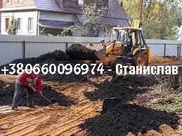 Чернозем, плодорный грунт, торф, песок