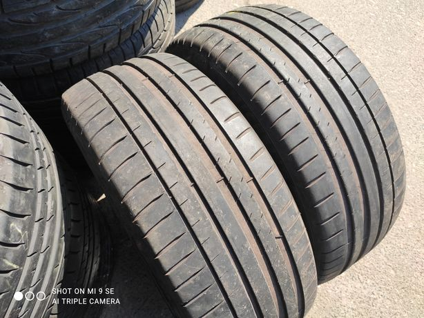 Пара 225/45/18 Michelin PilotSport4ZP.20г.5+мм.Италия.