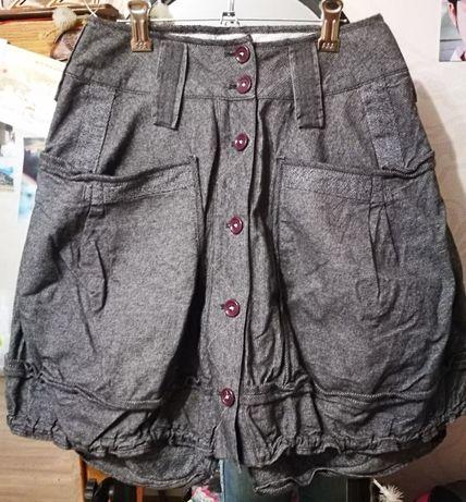 Оригинальная юбка осень-зима