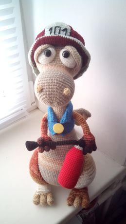 Вязанные игрушки куклы ручной работы