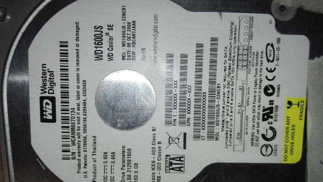 Dysk Twardy 160G plus Napend DVD na Sata.